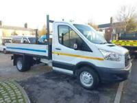 2016 16 FORD TRANSIT DROPSIDE TIPPER 6 SPEED 125 TDCI WITH 1 STOP ALLOY BODY IN