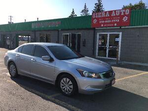 2009 Honda Accord LX**4 CYLINDER**NO ACCIDENTS**CERTIFIED**MINT*