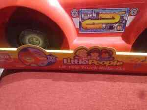 Brand new little people fire truck ride on with sounds for $35. Windsor Region Ontario image 5