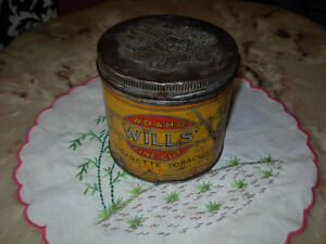 Wills' Cigarette Tobacco Can St. John's Newfoundland image 2
