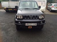 Suzuki Jimny 4x4 on/off roader ideal for coming winter