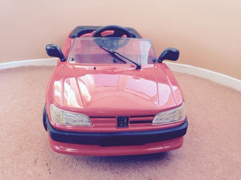 Pedal Car Toy - Peugeot 306 Cabriolet (pedle peddle) | in Maidenhead ...