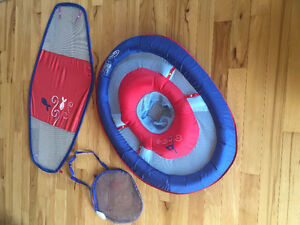 Swim canopy for infant-toddler