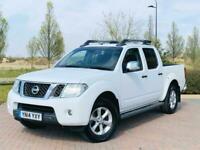 2014/14 reg Nissan Navara 2.5 DCi Double Cab Auto Tekna - 76K + FSH + NO VAT