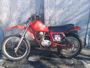 Honda xl125 1982 pour piece