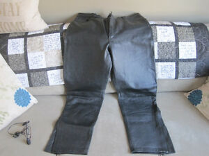 Motorcycle Leather over pants