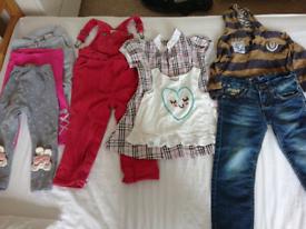 Bundle children's clothing 2-3 boy / girl