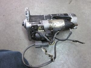 Mitsubishi Fuso cab forward starter and alternator