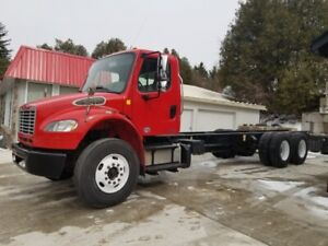 2012 FREIGHTLINER M2 TANDEM CAB AND CHASSIS