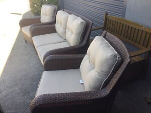 2+1+1 outdoor furniture Bayswater Knox Area Preview