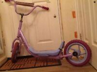 Older Girls Large Wheels Big Scooter N Helmet Collect En9 Waltham Abbey
