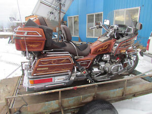 Was running 85 Goldwing 1200