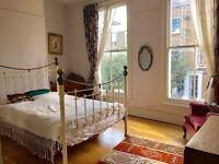 Beautiful Double Bedroom Stoke Newington Town House, Balcony & Garden, 5 mins walk from Church St