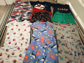 6* Baby boy's shorts pyjamas sets 18-24 months