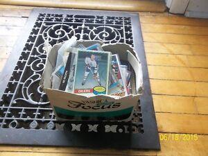 Camera Box full of hockey/football/basketball cards