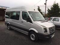 Volkswagen CRAFTER CR35 109 MWB 15 seater only 36000 miles