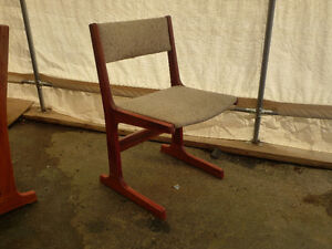 rosewood not teak dining chairs