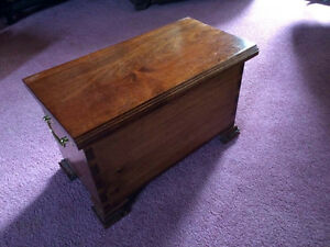 Pair of Wooden Boxes