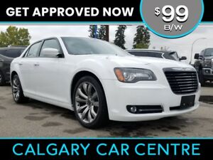 2014 Chrysler 300 $99B/W w/Leather, Navi, PanoRoof. DRIVE HOME T