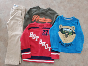 Toddler Boys Clothes Size 4T, $5 For All