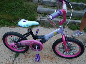"""16"""" Kid's Bike, Tinkerbell. Great condition~"""