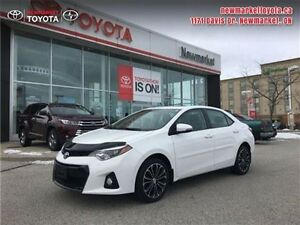 2014 Toyota Corolla Sport  - one owner - Certified - Leather Sea