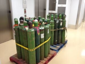 125 Cubic Foot ( M size) Gas Cylinders for sale