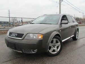 2003 Audi Allroad AWD,Leather,Sunroof,Alloys