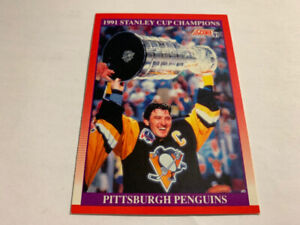 1991-92Score CND. English #315 Mario Lemieux Pittsburgh Penguins