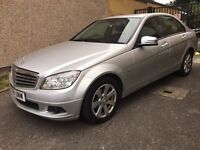 MERCEDES C180 SPORTS BLUE EFFICIENCY WITH NAVIGATION & BLUETHOOTH