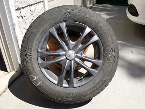 """16"""" Sacchi rims and winter tires"""