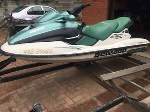 Two Sea-Doo GTX Millennium Edition Package