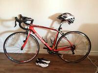 vélo de route Specialized Roubaix Elite compact presque neuf !