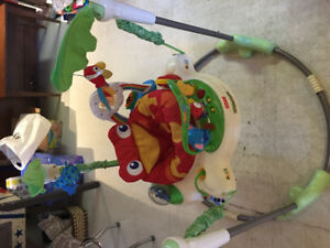 Sauteuse grenouille style Jolly Jumper