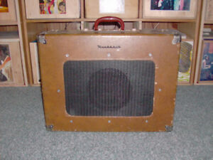 Vintage suitcase tube amp for sale
