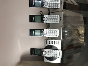4 V Tech cordless phones with answering machine