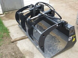 "New Unused 66"" Wide Grapple Bucket Fits Full Size Skid Steer"