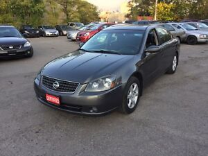 2005 NISSAN ALTIMA GREAT CONDITION CERTIFIED-E TESTED READY