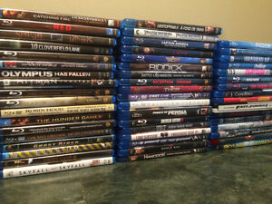 Selling Blu-ray + DVD movies