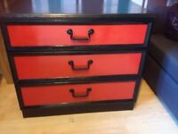 G plan 3 chest of drawers