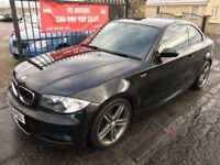 2009 BMW 120D M SPORT, 1 YEAR MOT, SERVICE HISTORY, WARRANTY, NOT A3 C CLASS GOLF C30