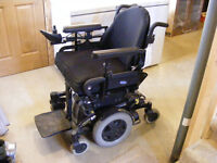 Electric Wheelchair with Accessories