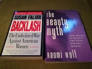 Used Books in Good Condition - Susan Faludi and Naomi Wolf