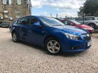 Chevrolet Cruze 1.6i ( 124ps ) 2012MY LT BLUE PETROL 12 MONTHS MOT FULL SERVICE