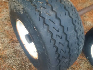 18.5 x 8.50-8 Trailer Tire Assembly
