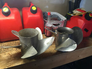 Two Stainless Steel Props - Need Repair