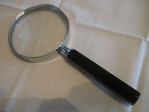 HANDY VINTAGE PURSE / POCKET SIZED MAGNIFYING GLASS