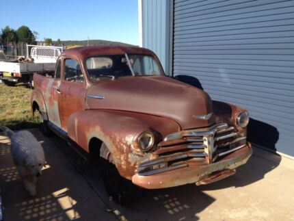 Chevrolet 1947 coupe ute chev hot cool rod patina Glen Innes Glen Innes Area Preview