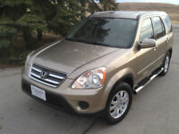 2006 Honda CR-V EX-L sunroof, heated leather, remote start