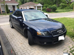 2003 Audi A4 - 143000km - E Test Valid $4500 GREAT CONVERTIBLE!